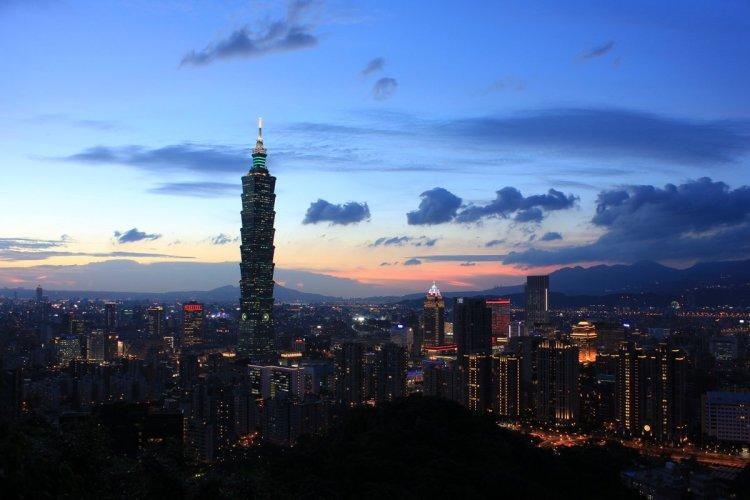 Taipei hoàng hôn