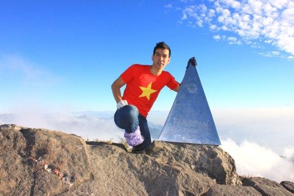 May mắn là từng leo núi Fansipan cao 3143