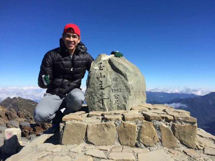 Trên đỉnh núi Yushan