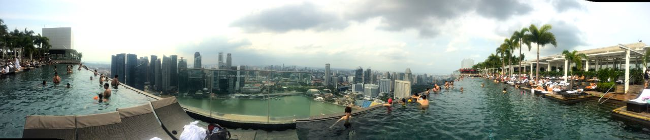 infinity pool mbs. Big Thanks To My Sister And Brother, I Did Complete The Very First Thing In Bucket List: Go Swimming At Edge Of Marina Bay Sands Infinity Pool Mbs