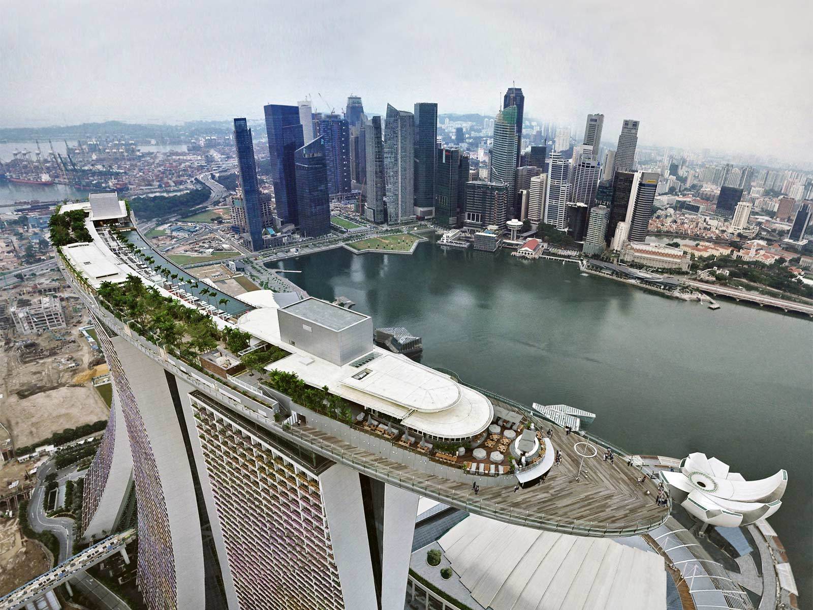 Bucket list 1 go swimming at the edge of marina bay sands infinity pool hubert cu - Singapore marina bay sands infinity pool ...