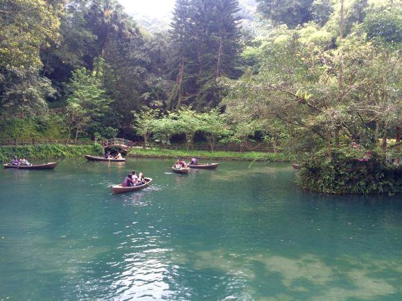 Chèo thuyền trong công viên YunXian