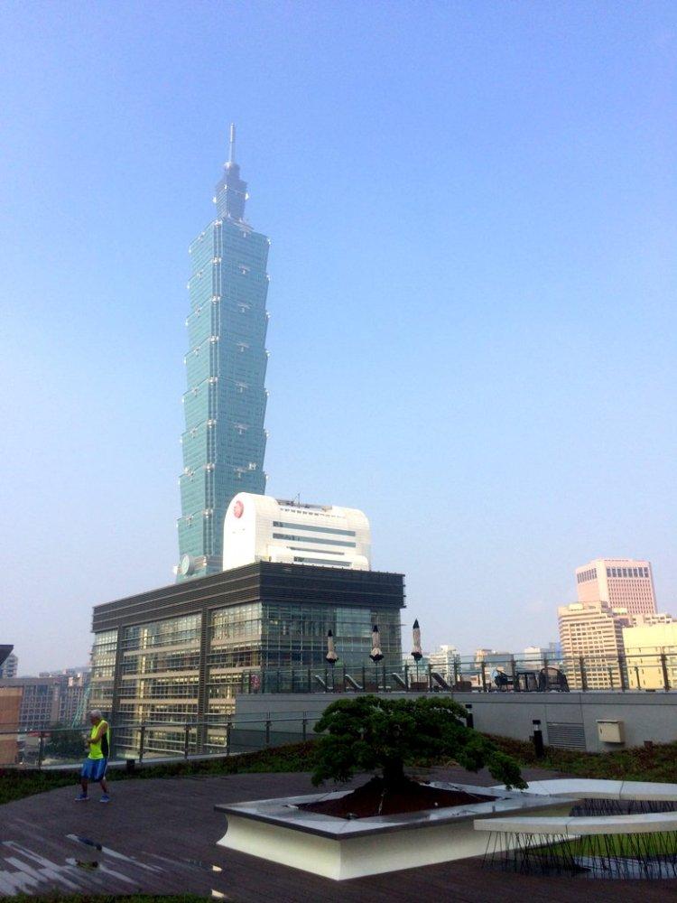 First morning in Taiwan